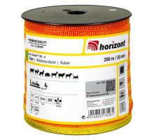 Лента желтая для лошадей farmer 20 мм, 200 м