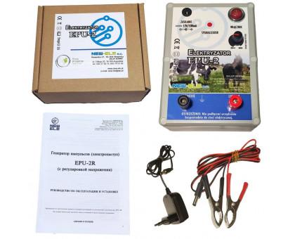 Электризатор для ограждения EPU-2R (с регулировкой от 0.1 до 2,0 Дж)