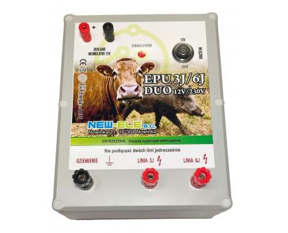 Электризатор для ограждения EPU 3J/6J DUO 12V/230V