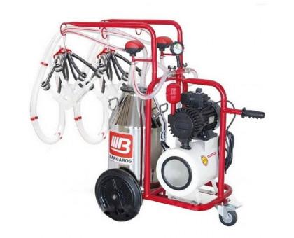 Доильный аппарат для коз и овец УДА-4КО-40Л, Турция