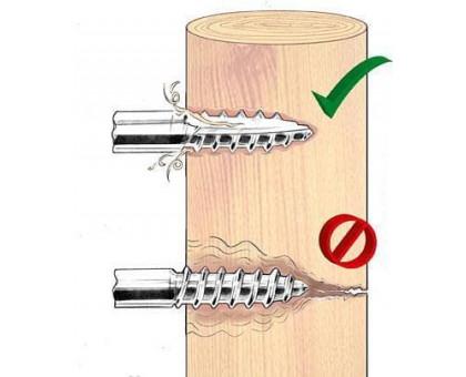Изоляторы для электропастуха с саморезом