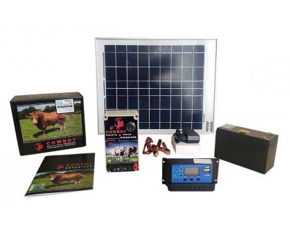 Электропастух COWBOY 1100 с солнечной установкой