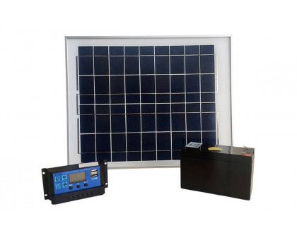 Электропастух cowboy 4200 на солнечной панели с аккумулятором